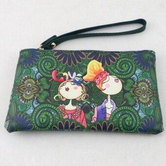 Women Daily Use Clutches Handbag Quality Clutch Purse Fashion Handbag Wallet - intl
