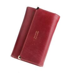 ซื้อ Women Envelope Clutch Wallet Red ใน ฮ่องกง