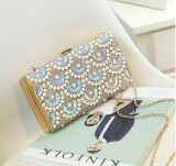 ซื้อ Women Evening Clutch Shoulder Bag With Shining Sequin Gold ใน จีน