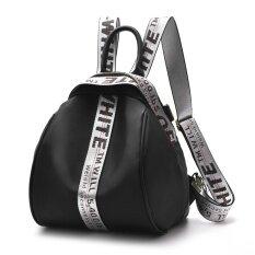 ขาย Women Fashion Bags Straps Ribbon Oxford Crossbody Female Shoulder Bag Intl Puriss ใน จีน