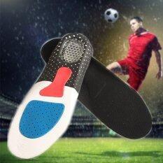 ราคา Women Gel Orthotic Sport Running Insoles Insert Shoe Pad Arch Support Cushion เป็นต้นฉบับ
