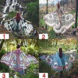 ซื้อ Women G*rl Soft Butterfly Wings Shawl Scarf Ladies Costume Accessory Fairy Elegant Style 2 Intl จีน