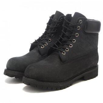บู๊ทส์รองเท้าผู้หญิงสำหรับรองเท้าทิมเบอร์แลนด์ (สีดำ)-สนามบินนานาชาติ