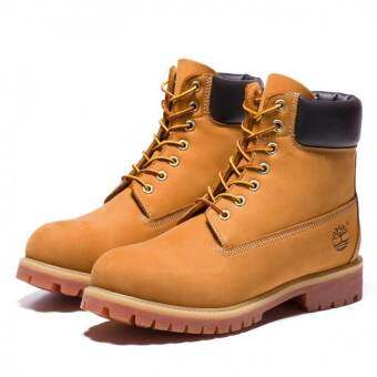 Women Hight Boots For Timberland Shoes (Yellow) - intl-