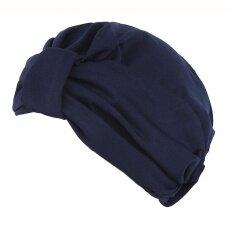ผู้หญิงอินเดีย Gilding หมวกยืด Turban หมวกคีโมผมสูญเสียหัวผ้าพันคอ By Cocolmax.