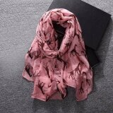 ราคา Women Ladies Giraffe Print Pattern Long Scarf Warm Wrap Shawl Intl Unbranded Generic ออนไลน์