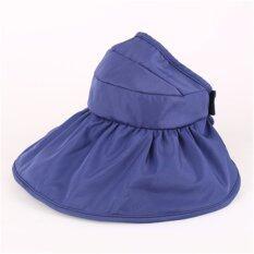 ราคา ผู้หญิงขนาดใหญ่หมวกปีกกว้างหมวกฤดูร้อนป้องกันรังสียูวีชายหาดดวงอาทิตย์พับเก็บได้หมวก ใหม่