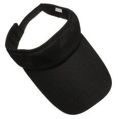 ราคา Women Men Golf Sports Hat Cotton Adjustable Summer Sun Visor Tennis Baseball Cap ถูก