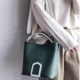 ซื้อ Women Messenger Bag Pu Leather Handbag Tote Bag Intl ถูก จีน