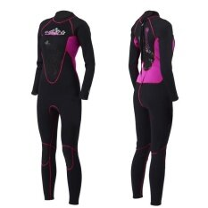 Women Professional High Elastic Patchwork 3Mm Neoprene Warm Diving Clothes Wetsuit 7084 Intl Unbranded Generic ถูก ใน จีน