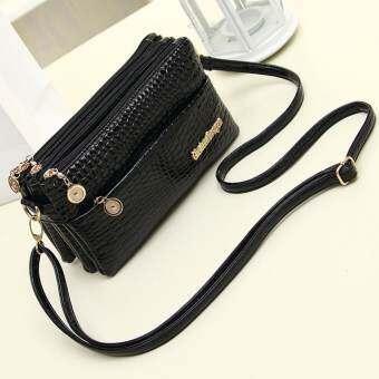 [uebfashion] กระเป๋าสะพายสตรีกระเป๋าแมสเซนเจอร์ปู Women Shoulder Bags Messenger Bag PU Crossbody Bags Satchel Handbag
