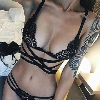 ผู้หญิงเซ็กซี่ตัดสายชุดชั้นในชุดนอนชุดชั้นใน XXL
