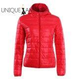 ซื้อ Women Slim Fit Cotton Padded Coat Hooded Warm Short Jacket Intl ออนไลน์ จีน