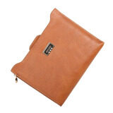 ขาย Women Slim Passport Card Holder Wallet Orange ฮ่องกง