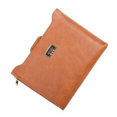 ทบทวน ที่สุด Women Slim Passport Card Holder Wallet Orange