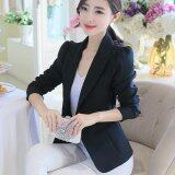 ซื้อ Women Spring Autumn Slim Blazers Suit Long Sleeve Ladies Ol Office Casual Coats Single Button Intl ออนไลน์ ถูก