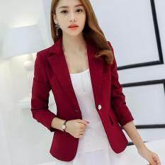 ซื้อ Women Spring Summer Blazers Suit Long Sleeve Female Coat Ladies Ol Office Business Outwear Intl ใหม่