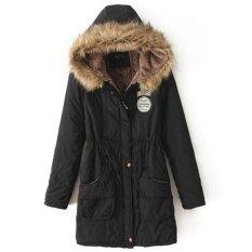 ราคา ผู้หญิงฤดูหนาวขนแกะเสื้อคลุมยาว Faux ขนเสื้อโค้ทเสื้อคลุมเสื้อ