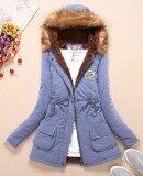 ซื้อ เสื้อแจ็คเก็ต เสื้อโค้ทแบบยาว สำหรับผู้หญิง Light Blue Light Blue Light Blue Light Blue ออนไลน์ ถูก
