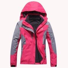 โปรโมชั่น Women S Hoodie Jacket Section Pizex Waterproof Windproof Windbreak For Outdoor Sports Mountaineering Climbing Skiing Camping Intl จีน