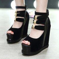 ทบทวน ที่สุด รองเท้าสตรี Peep นิ้วเท้ารองเท้ารองเท้าแตะพรรคญี่ปุ่น นานาชาติ