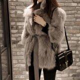 ขาย ซื้อ ผู้หญิง Slim Faux Fur Outwear แจ็คเก็ต Overcoat Winter Parka ใน สมุทรปราการ
