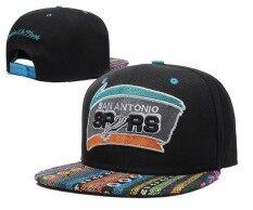 ผู้หญิงตวัดกลับหมวกเอ็นบีเอซานอันโตนิโอสเปอร์สบุรุษบาสเกตบอลหมวกกีฬา Beat - Boy สาวๆนานาชาติ By Bmuieo60ys.