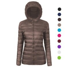 ราคา Women S Ultra Lightweight Stand Collar Down Cotton Jacket Coat Intl ออนไลน์ จีน