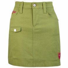 ราคา Womens Fashion Golf Skirt Apparel Lady Golf Korean Sports Short Cotton Skirt Clothing Summer Pantskirt Plus Xl Green Intl Pgm เป็นต้นฉบับ