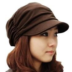 ซื้อ จีบสาวสไตล์เกาหลีหมวกหมวกแก็ปอ้วนใส 3 สี ถูก จีน