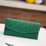 ส่วนลด Women S Lady Clutch Leaf Leather Long Wallet Card Holder Purse Pu Bag Phone Women Small Short Wallets Zipper Handbag Intl จีน