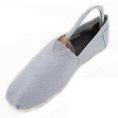 ขาย ชายหญิงรองเท้าแตะ Ons ผ้าลินินธรรมชาติผ้าใบไม่จำกัดเพศรองเท้าลำลอง D05 สีเทาอ่อน ถูก จีน