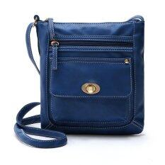 โปรโมชั่น Women S Pouch Handbag Messenger Bags Blue ใน Thailand