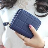 ราคา สตรีกระเป๋าสตางค์ลายง่าย ๆ เงินรูปแบบแฟชั่นมินิ สีน้ำเงิน ระหว่างประเทศ Unbranded Generic เป็นต้นฉบับ