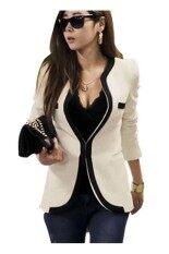 Women S Slim Suit Coat Jacket White ถูก