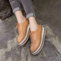 ความคิดเห็น รองเท้าสตรีรองเท้ารองเท้าหุ้มส้นลอนดอนรองเท้าแตะสีน้ำตาล