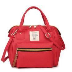ซื้อ Wonderful Fashion Japan Women Bag กระเป๋าสะพายข้างสำหรับผู้หญิง Red ถูก Thailand