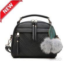 ราคา Wonderful Story กระเป๋าสะพายข้าง กระเป๋าเป้ผ้าไนลอน Skn607 Premium Pu Leather Crossbody Bag (Black ) Wonderful Story ออนไลน์