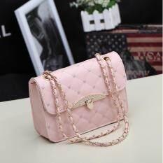 ขาย Wonderful Story กระเป๋าสะพายข้าง รุ่น T040 Pink) ราคาถูกที่สุด