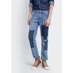 ขาย ซื้อ ออนไลน์ Wrangler กางเกงยีนส์ขายาว รุ่น Wr W615Q201 สียีนส์