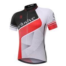 XCSBIKE  เสื้อปั่นจักรยานแขนสั้นปลายแขนเลเซอร์คัต Exclusive : EX170080