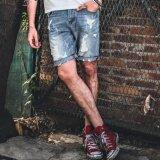 ราคา Xdian ผู้ชาย S ทำลาย Ripped บางพอดีกางเกงลำลองกางเกงยีนส์กางเกงยีนส์ผ้าฝ้าย 100 1 2 บางยาวกางเกงสำหรับเด็กชาย สีฟ้า นานาชาติ ใน Thailand