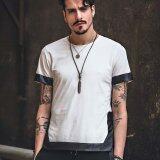 ขาย Xdian Mens T Shirt Short Sleeve Tops Casual Shirt Round Neck Summer Tees(White Intl ถูก Thailand