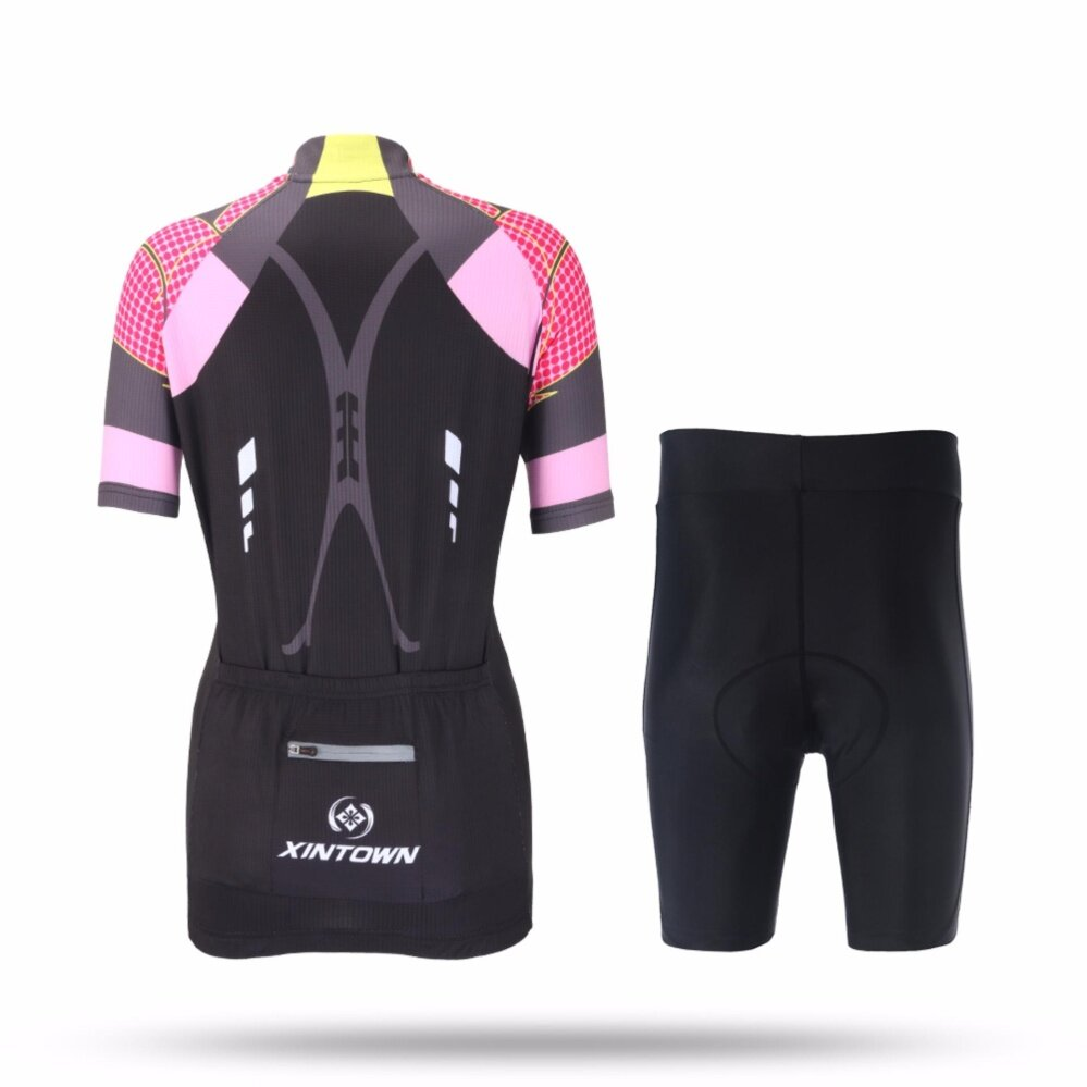 XINTOWN Ladies' short sleeve Jersey suit mountain bikes cycling suit