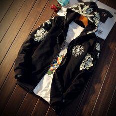 ราคา เสื้อยืดคลุมด้วยผ้าญี่ปุ่นผู้ชายไซส์พิเศษไซส์ใหญ่พิเศษรหัส สีดำ ใหม่