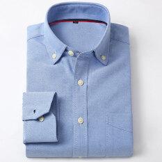 ทบทวน เสื้อเกาหลีเสื้อเชิ้ตสีขาวฟอร์ดชายแขนยาว Xnjf04 Unbranded Generic