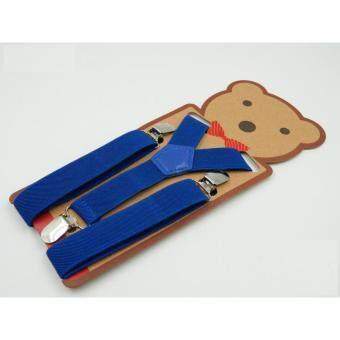 สายเอี้ยม สายเอี้ยมเด็ก สายเอี้ยมเด็กผู้หญิง สายเอี้ยมเด็กผู้ชาย เอี้ยมยางยืดสีพื้น ทรง Y ขนาด 2.5 cm Baby Suspender