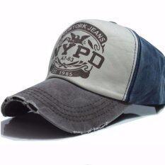 ราคา Y And L Support หมวก เบสบอล หมวกแก๊ป ปรับขนาดได้ ขาว น้ำเงิน Baseball Cap7 Twotone Y And L Support เป็นต้นฉบับ