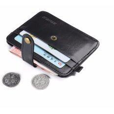 ซื้อ Y And L Support กระเป๋าสตางค์ พับกระเป๋าสตางค์ผู้ชาย เครดิต บัตรประจำตัวประชาชน สีดำ Jinbaolai Wallet 94 Black Y And L Support ถูก