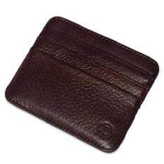 ขาย ซื้อ Y And L Support กระเป๋าใส่บัตรเครดิต บัตรประจำตัวประชาชน สีน้ำตาลเข้ม Wallet And Purse 238 Darkbrown Thailand